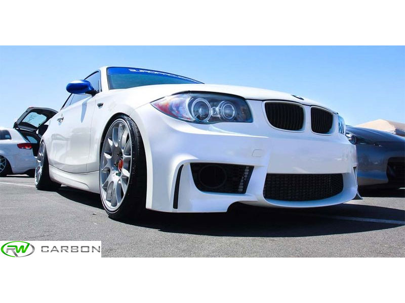 The ultimate aerodynamic exterior upgrade for your 128i, 135i or 135i is this 1m Style Front Bumper