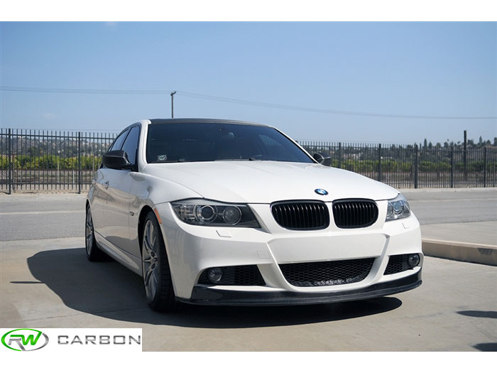 Easy installation and quality cf construction, you can't go wrong with this BMW E90 E91 LCI Carbon Fiber Front Lip