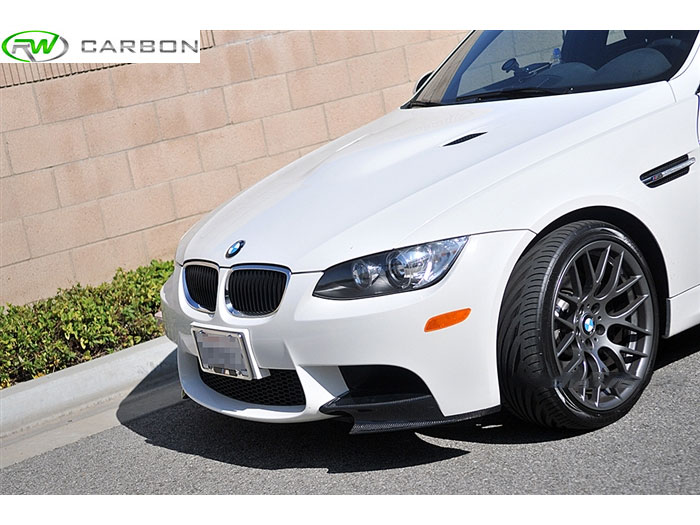 BMW E90 E92 E93 M3 Carbon Fiber Splitters from RW carbon