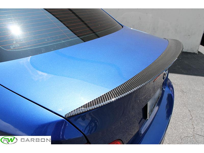 New Bmw Performance Style Carbon Fiber Trunk Spoiler