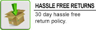 30 Day Hassle Free Returns at RW Carbon