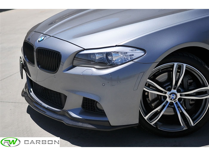 RW Carbon now carries the Arkym style front lips BMW F10 5 series