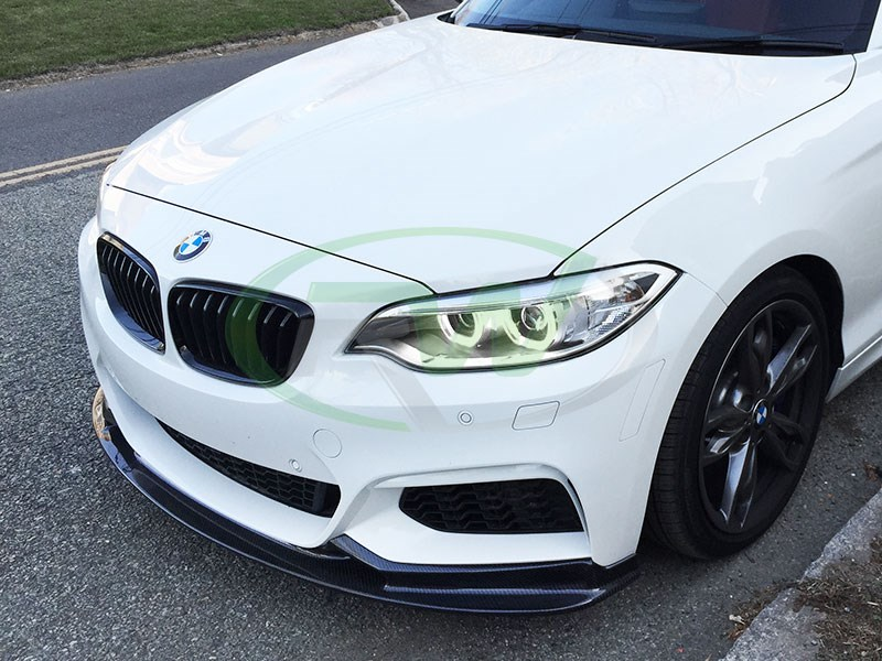 Grab your 3D style CF lip for your BMW F22 from RW Carbon