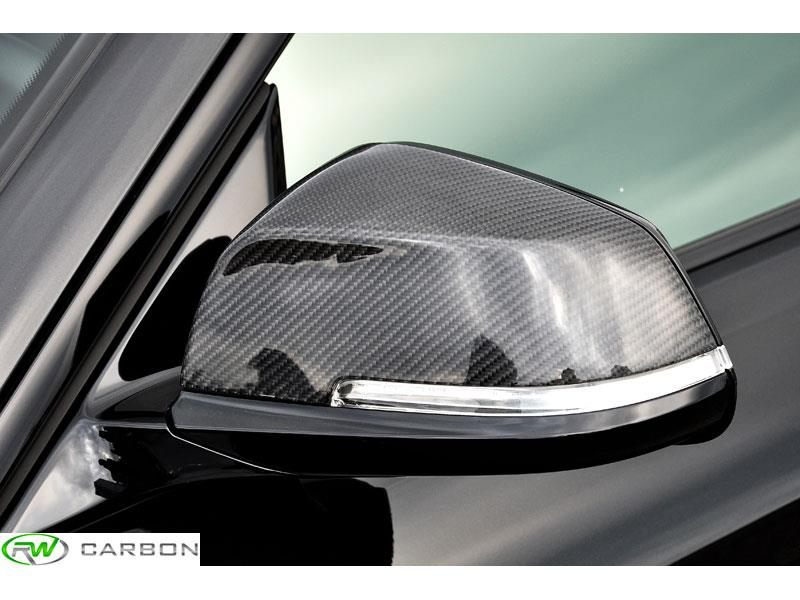 RW Carbon has the carbon fiber mirror cover replacements in stock, fits all f32, f33, f36 applications