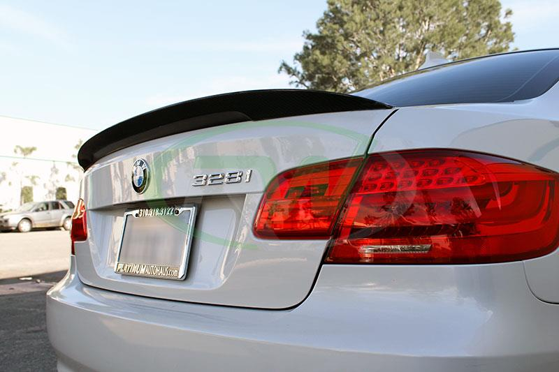 Checkout RW Carbon's great fitting and looking BMW E92 328i, 335i, and 335is bmw performance style trunk spoiler