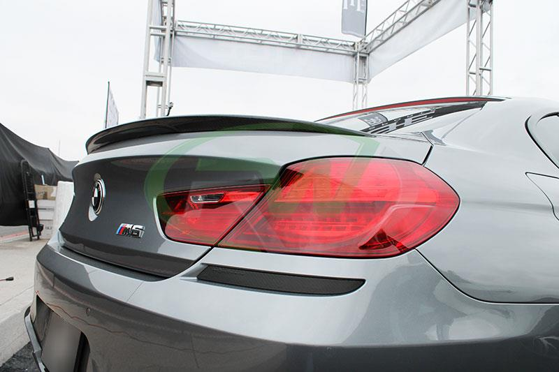 Performance style carbon fiber trunk spoiler for F06, F13 640i 650i and M6