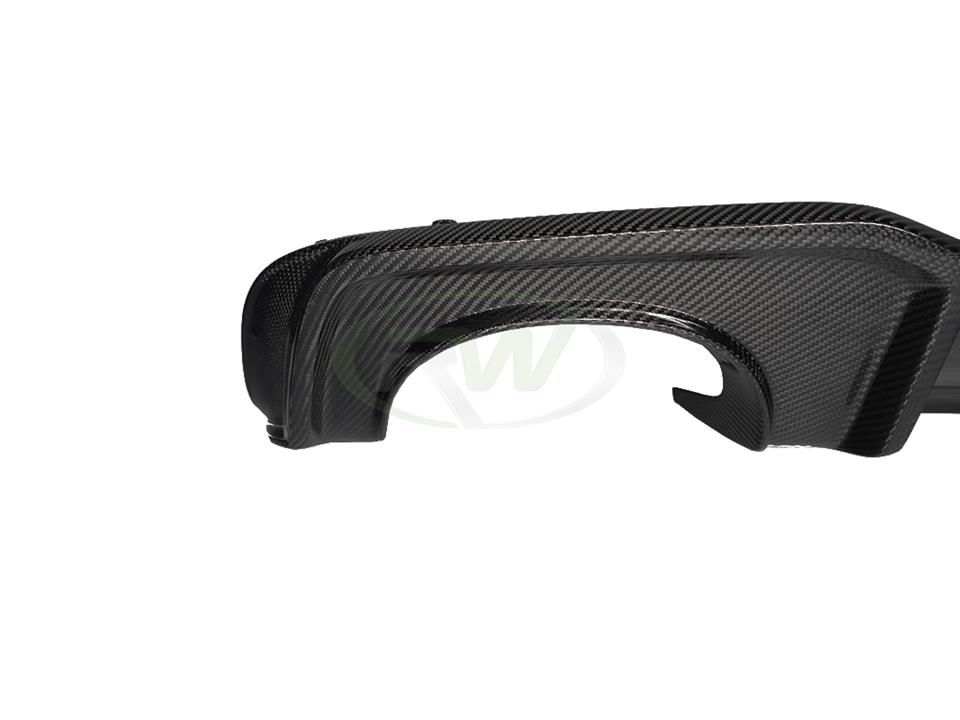 Audi 8V RS3 Carbon Fiber Rear Diffuser