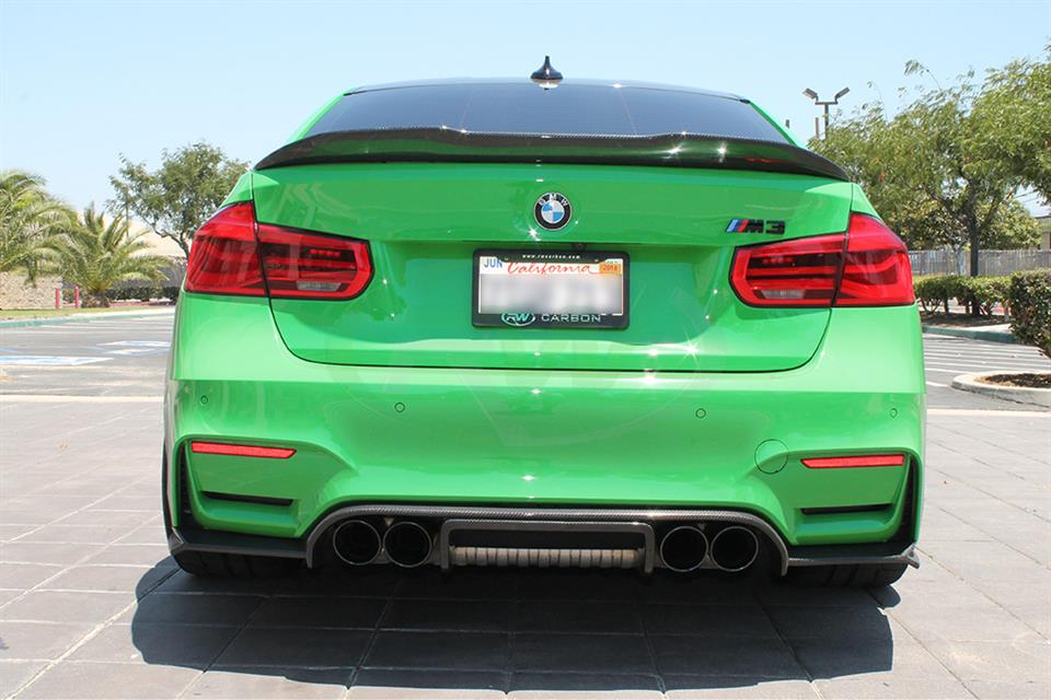 exotics style rear diffuser for bmw f80 m3 and f82 m4