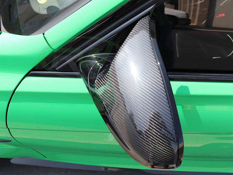 BMW F80 M3 F82 F83 M4 carbon fiber mirror replacements