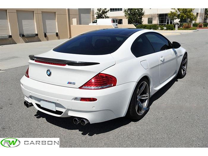 Bmw M6 Carbon: BMW E63 6 Series M6 Facelift Carbon Fiber Trunk Spoiler