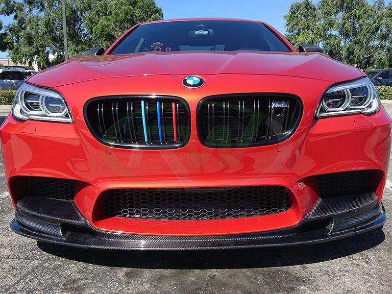 Shakir Red F10 M5 with an RW 3D Style Carbon Fiber Front Lip