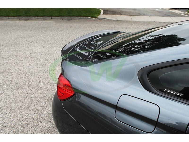 Bmw F36 3d Style Carbon Fiber Trunk Spoiler 428i 430i