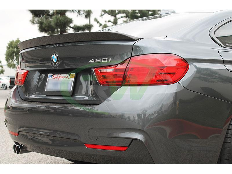BMW F36 428i with our 3D Style Carbon Fiber Trunk Spoiler