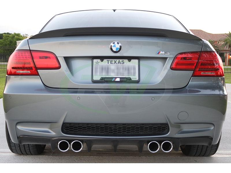 BMW E92 M3 with the RW Carbon Fiber Arkym Style CF Diffuser