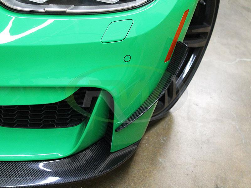 Signal Green BMW F80 M3 with RW Carbon Fiber Canards