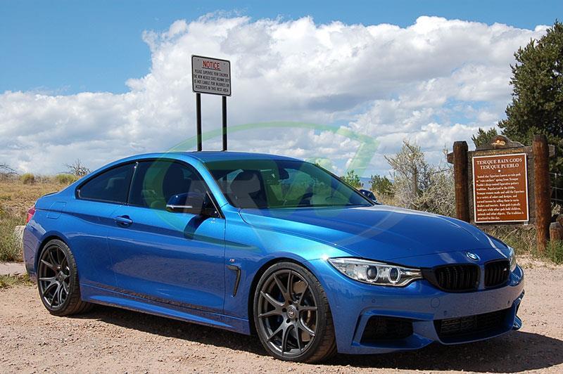 BMW F32/F33/F36 Carbon Fiber Fender Grilles for 428i, 430i, 435i, 440i