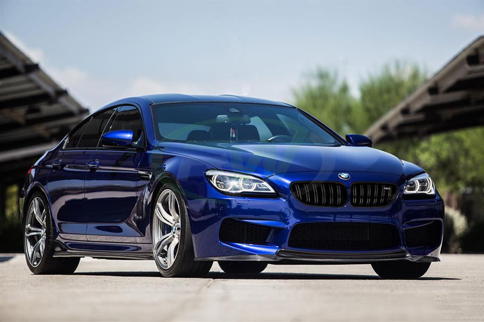 BMW F13 M6 with a set of RW Carbon Fiber Side Skirt Extensions
