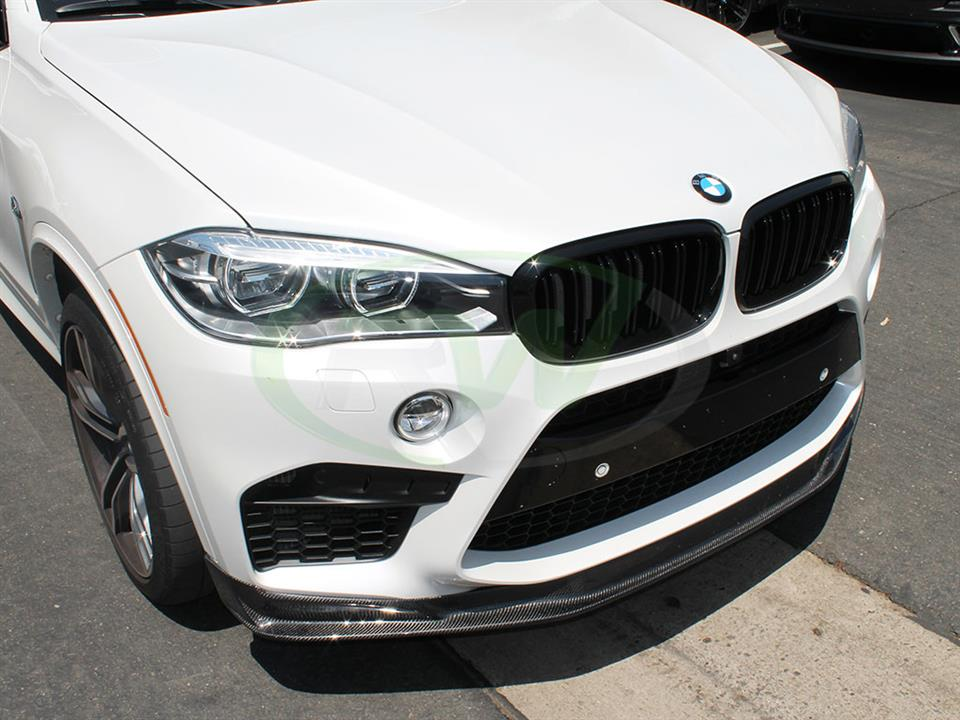 BMW F85 X5M Rocking the RW Carbon Fiber Front Lip