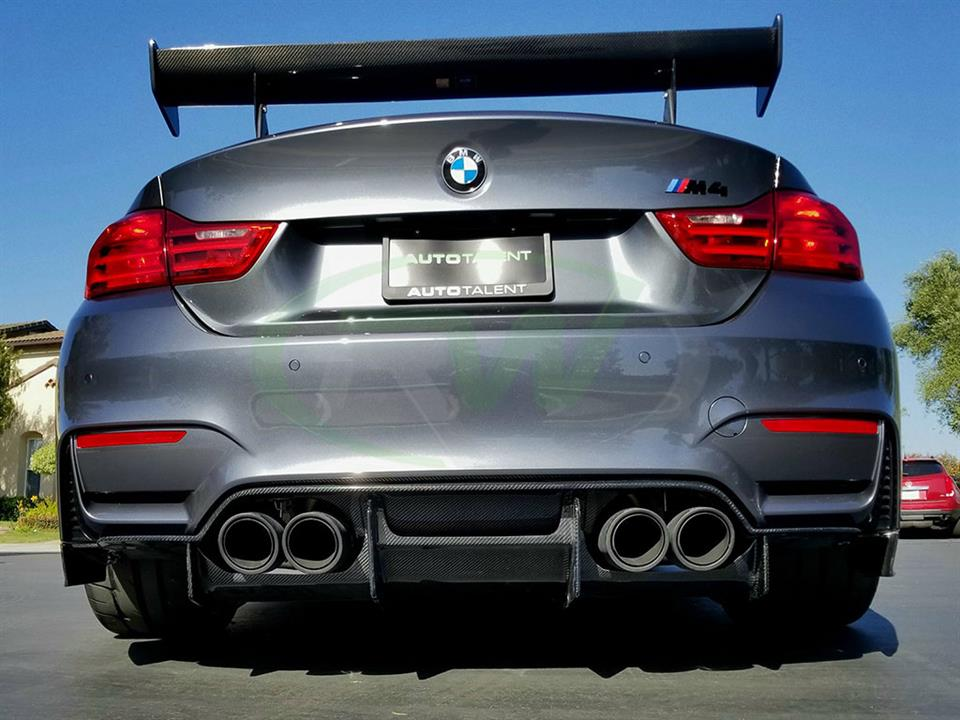 BMW F82 M4 with the New RW GTX Carbon Fiber Diffuser