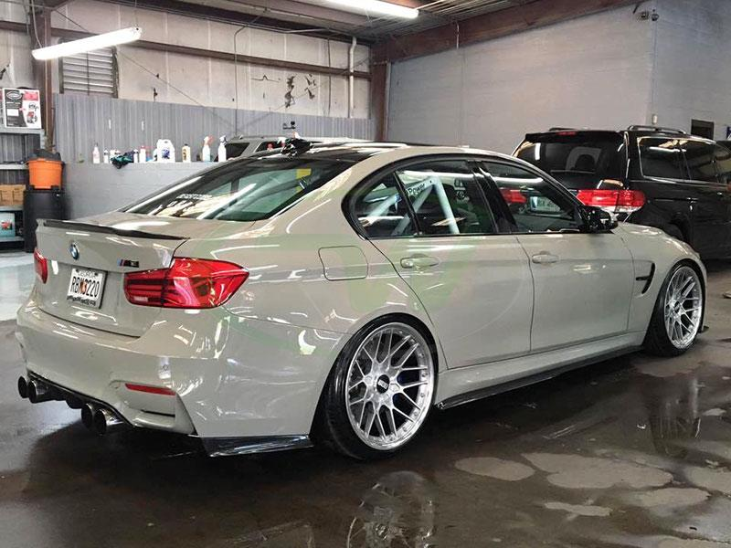 Fashion Grey BMW F80 M3 GTX Carbon Fiber Side Skirt Extensions