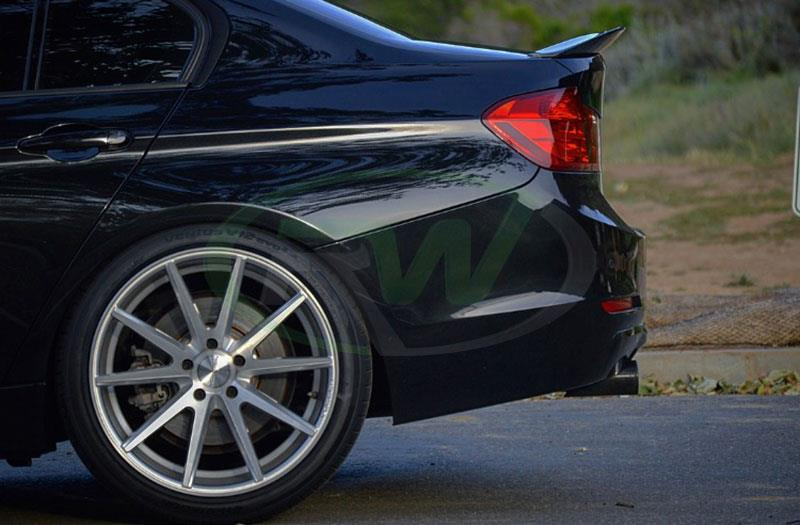 BMW F30 335i with RW Carbon's new GTX Carbon Fiber Trunk Spoiler