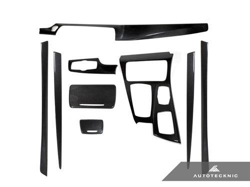 Bmw F10 Carbon Fiber Interior Trim Kit 528i 535i 550i