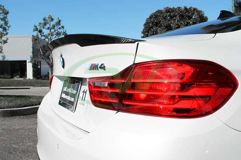 Clear Check Engine Light >> BMW F82 M4 Performance Style Carbon Fiber Trunk Spoiler