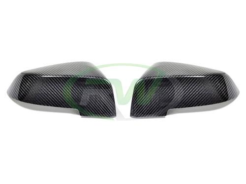 Carbon fiber mirror covers for the BMW F06, F12 and F13 640i and 650i