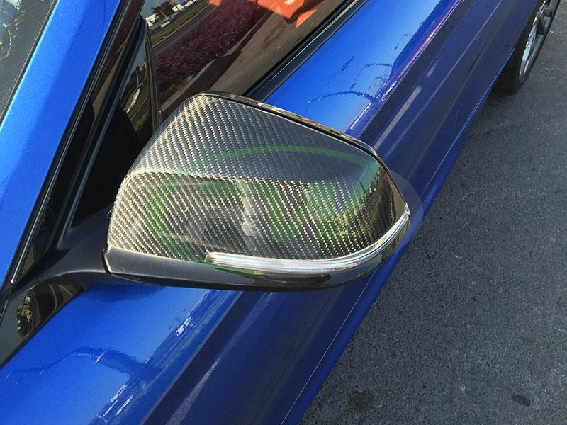 BMW F22 M235i Carbon Fiber Mirror Replacements