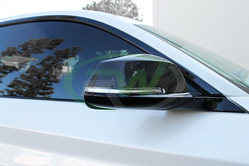 BMW F22 M235i with RW Carbon Fiber Mirror Replacements