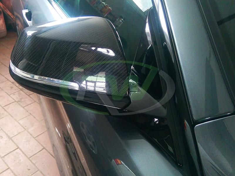 BMW F33 435i with RW Carbon Fiber Mirror Replacements