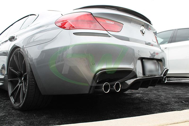 BMW F06 M6  with an RW Carbon Fiber Performance Sttyle Diffuser