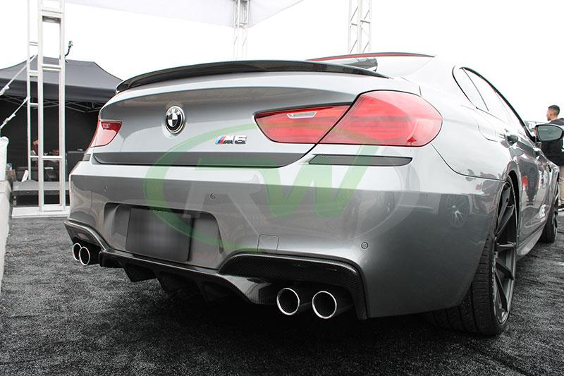 BMW F06 M6 with an RW Performance Style Carbon Fiber Trunk Spoiler