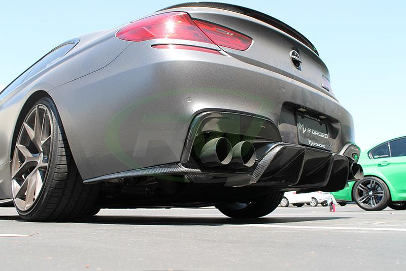 BMW F12 M6 with a Performance Style Outer and DTM Diffuser