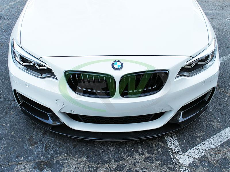 BMW F22 M235i with an RW Performance Style Carbon Fiber Front Lip
