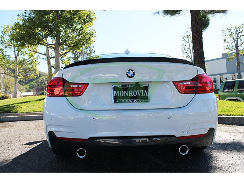 BMW F32 435i Performance Style Carbon Fiber Trunk Spoiler