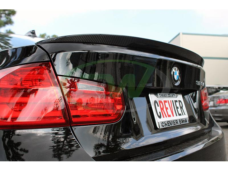 BMW F30 328i Sportline with a Performance Style Carbon Fiber Trunk Spoiler