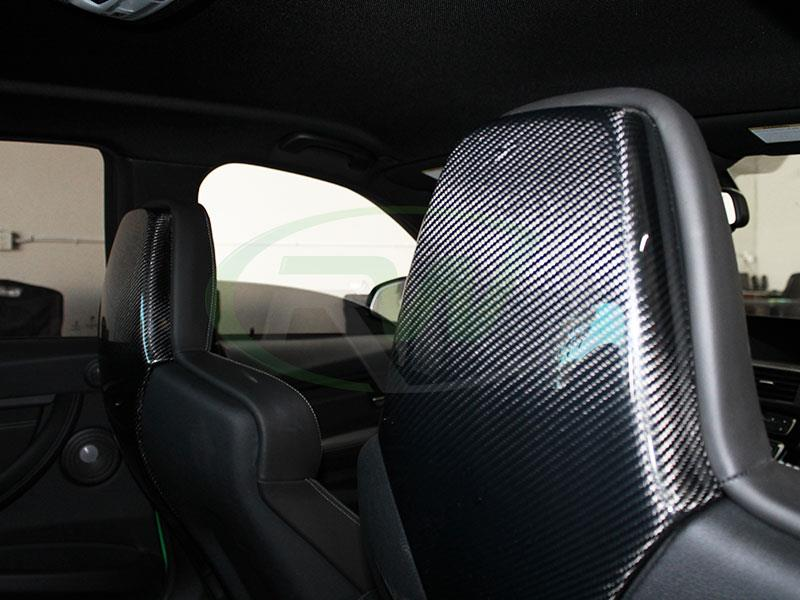 BMW F80 M3 with new RW Carbon Fiber Seat Backs