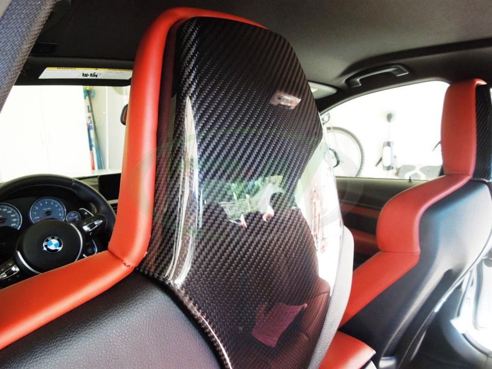 BMW F80 M3 with Genuine RW Carbon Fiber Seat Backs