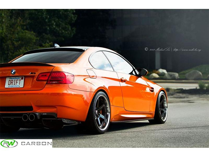 BMW E92 Carbon Fiber Side Skirt Extensions