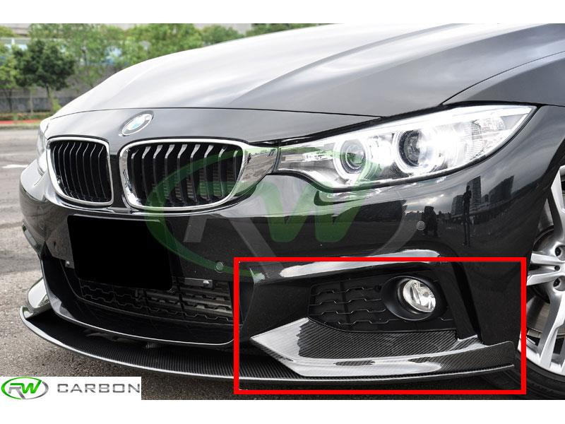 BMW F32/F33 Performance Style Carbon Fiber Splitters