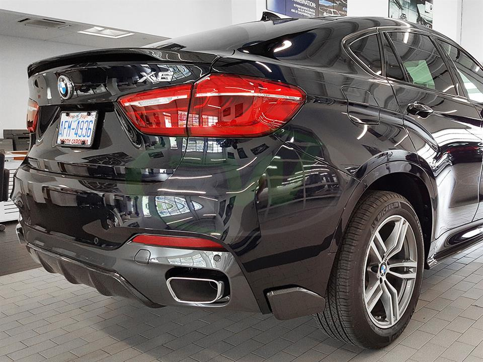 Bmw F16 X6 And F86 X6m Carbon Fiber Trunk Spoiler