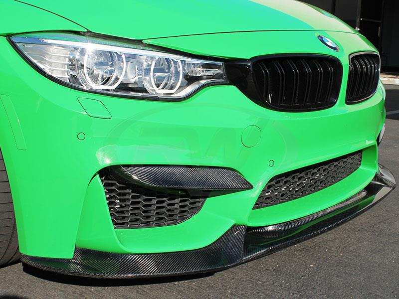 RW Carbon's BMW F80 M3 with our Upper Carbon Fiber Splitters