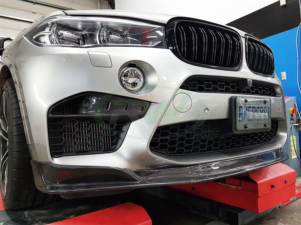 BMW F86 X6M Carbon Fiber Upper Splitters from RW