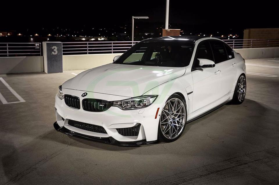 BMW F80 M3 Comp Package with an RW Varis Style Carbon Fiber Front Lip