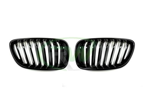 BMW F22 2 Series Gloss Black Grilles