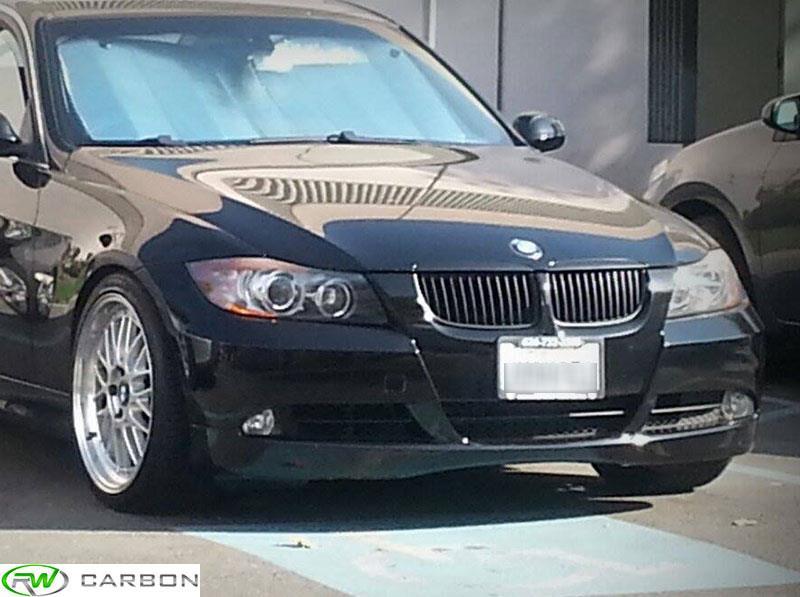Matte Black Bmw >> BMW E90 E91 Matte Black Grilles for 325i, 328i, 330i, 335i