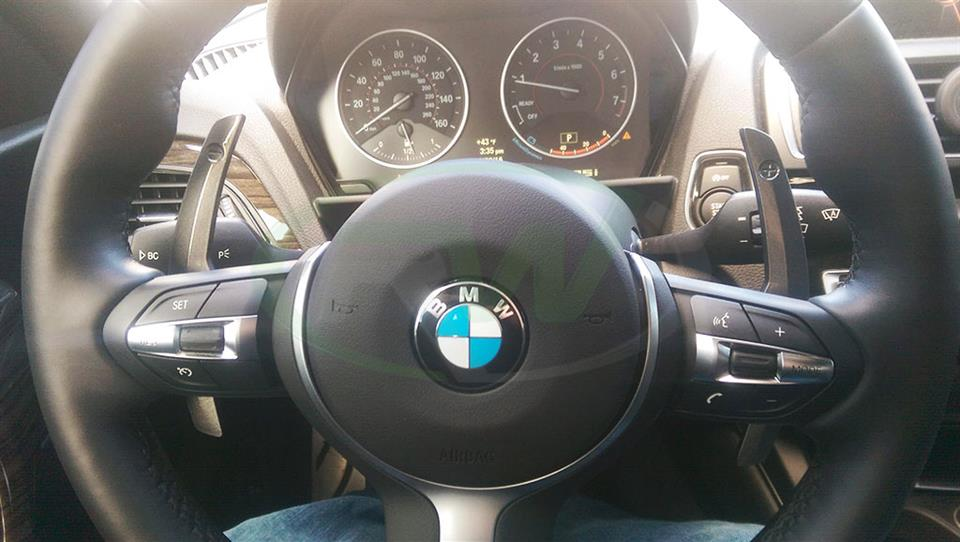 BMW F22 M235i Paddle Shifters from RW Carbon