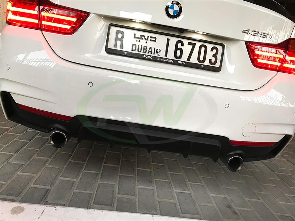 BMW F32 435i with the Performance Style Dual Diffuser