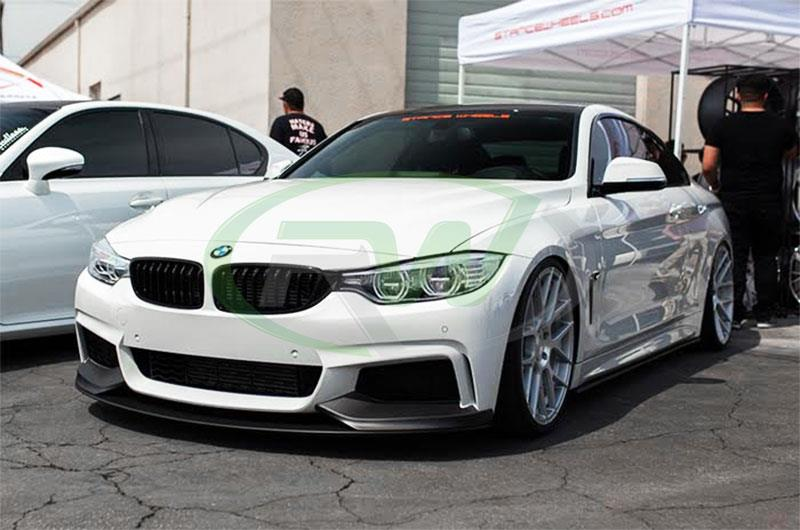 BMW F32 F33 F36 Performance Style Front Lip made of Polyproplyene Plastic